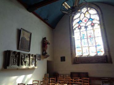 Hopital Camfrout ch Notre Dame de Bonne Nouvelle chapel Christ risen sep21