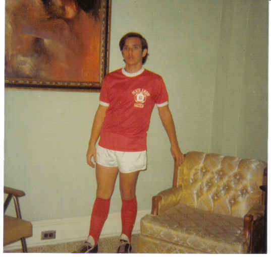 perth amboy me in away perth amboy hs soccer unif in my house 106 State 1977