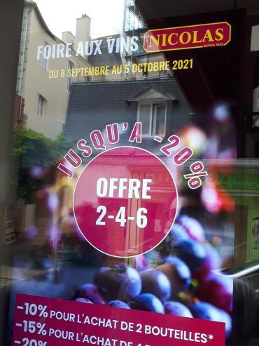 vannes nicolas foire aux vins 6 for 20 percent sep21