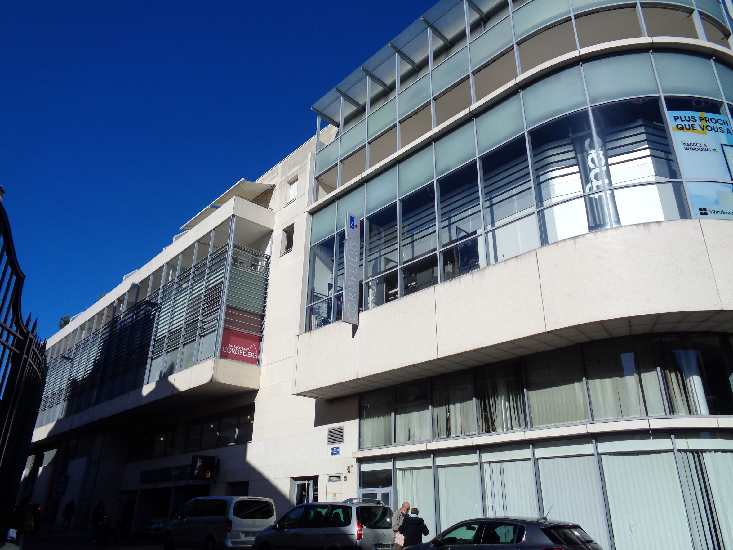 Poitiers centre commercial Cordeliers oct21