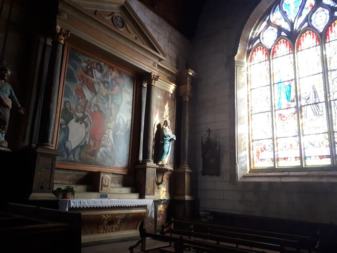 Serent ch st pierre chapel agonizing Christ oct21