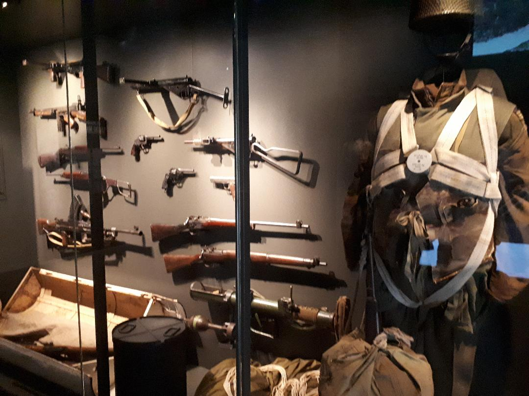 st marcel mus resistance bretonne paratroopers uniforms and weapons oct21